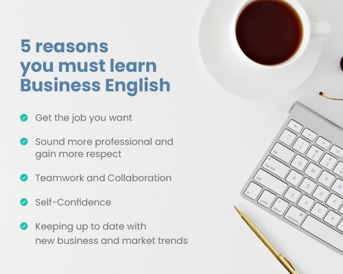 5 reason you must learn Business English